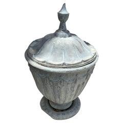 19th Century Pewter Urns