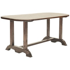 19th Century Philippine Long Dinning Table Made in Solid Molave Wood