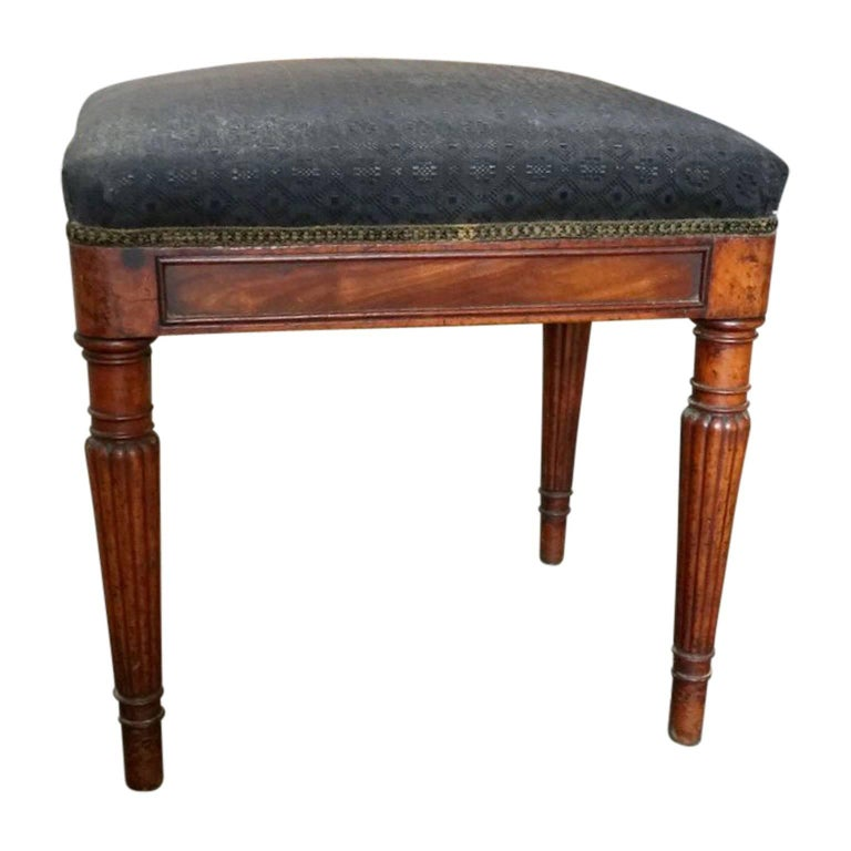 Empire 19th Century Piano Stool, Denmark For Sale