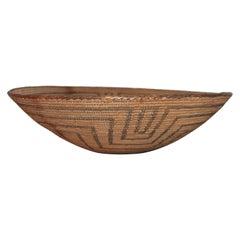 19th Century Pima Indian Large Basket
