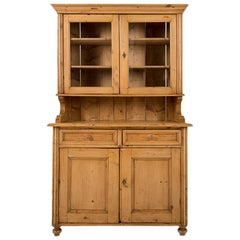 19th Century Pine Buffet with Hutch