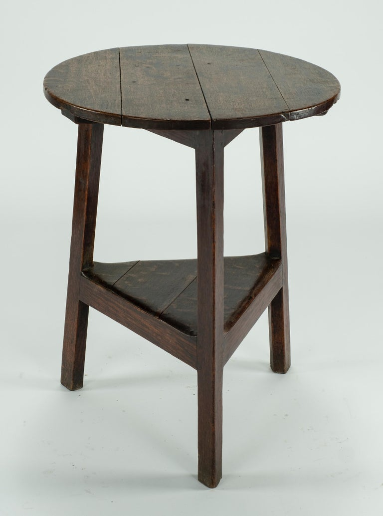 19th Century Pine Cricket Table For Sale 2