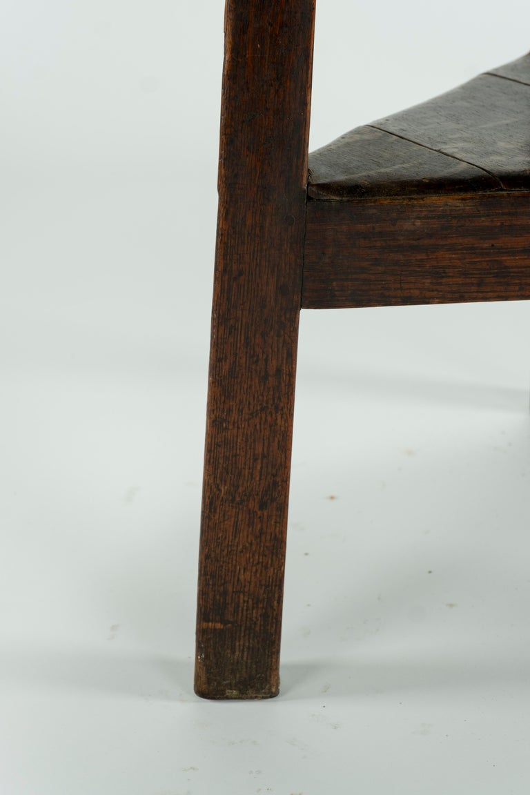 19th Century Pine Cricket Table For Sale 5