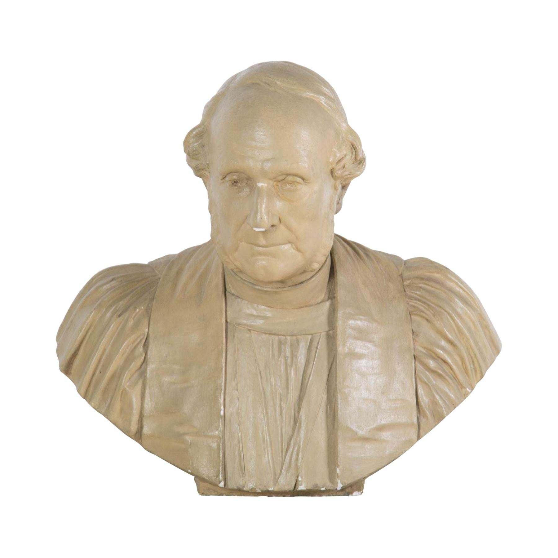19th Century Plaster Bust