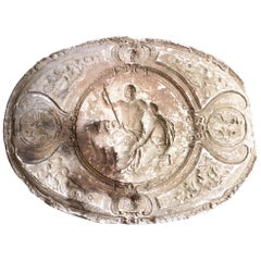 19th Century Plaster Mould Depicting Acrisius, Medusa etc