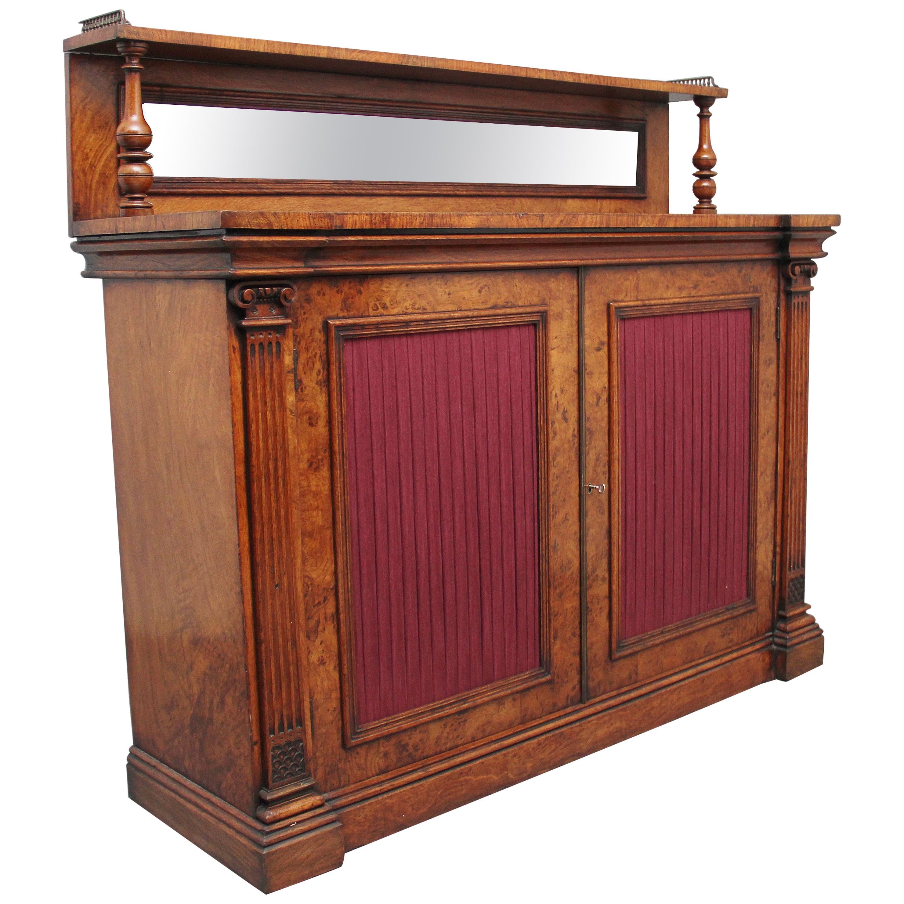 19th Century Pollard Oak Cabinet