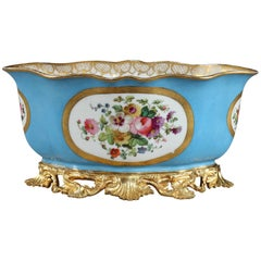 19th Century Porcelain and Ormolu Jardiniere