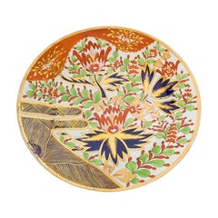 19th Century Porcelain Dish with Floral Design