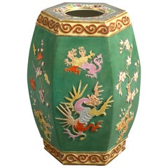 19th Century Porcelain Garden Seat