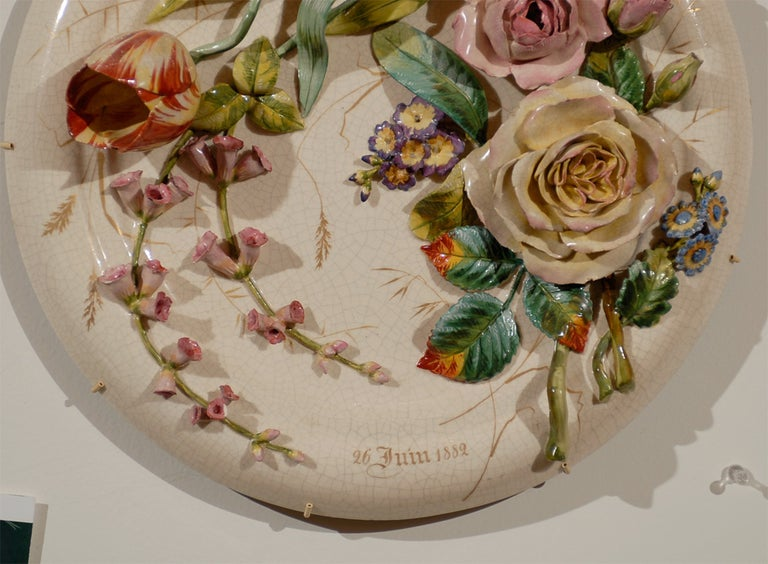 19th Century Porcelain Plate In Excellent Condition For Sale In Atlanta, GA