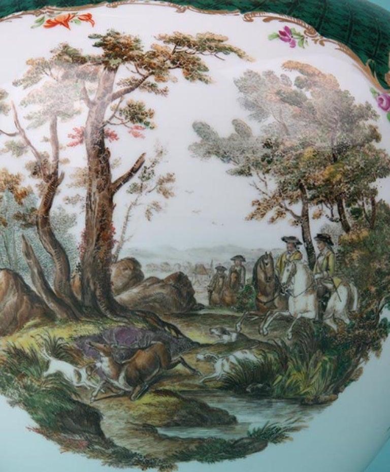 19th Century Porcelain Vases by Helena Wolfsohn, Dresden For Sale 3