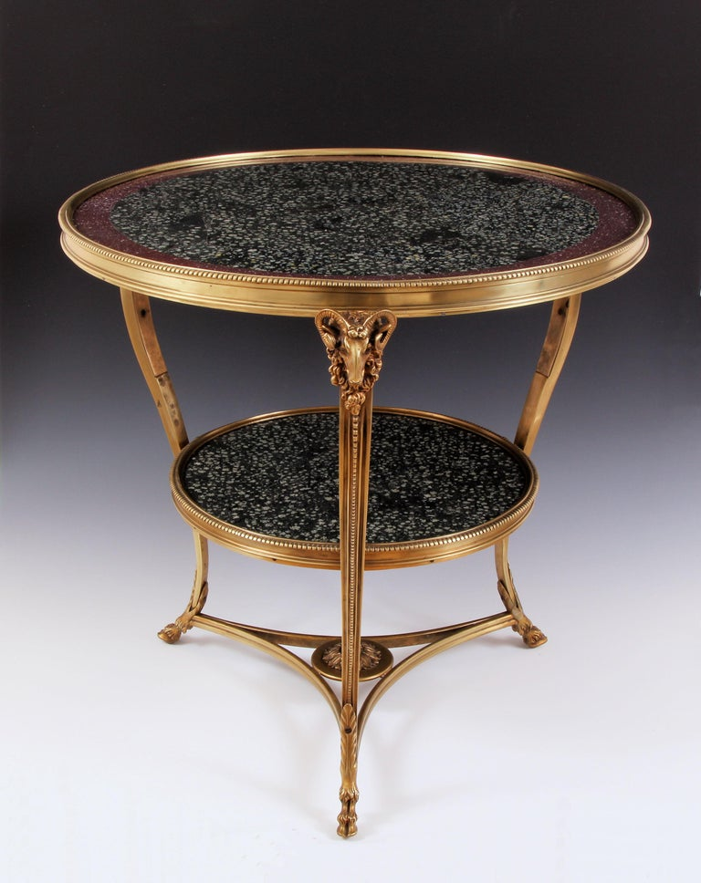 19th Century Porphyry Table For Sale 2