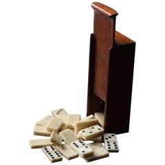 19th Century POW Treen Dominos