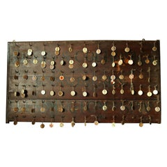 19th Century Primitive Wall Hook Rack