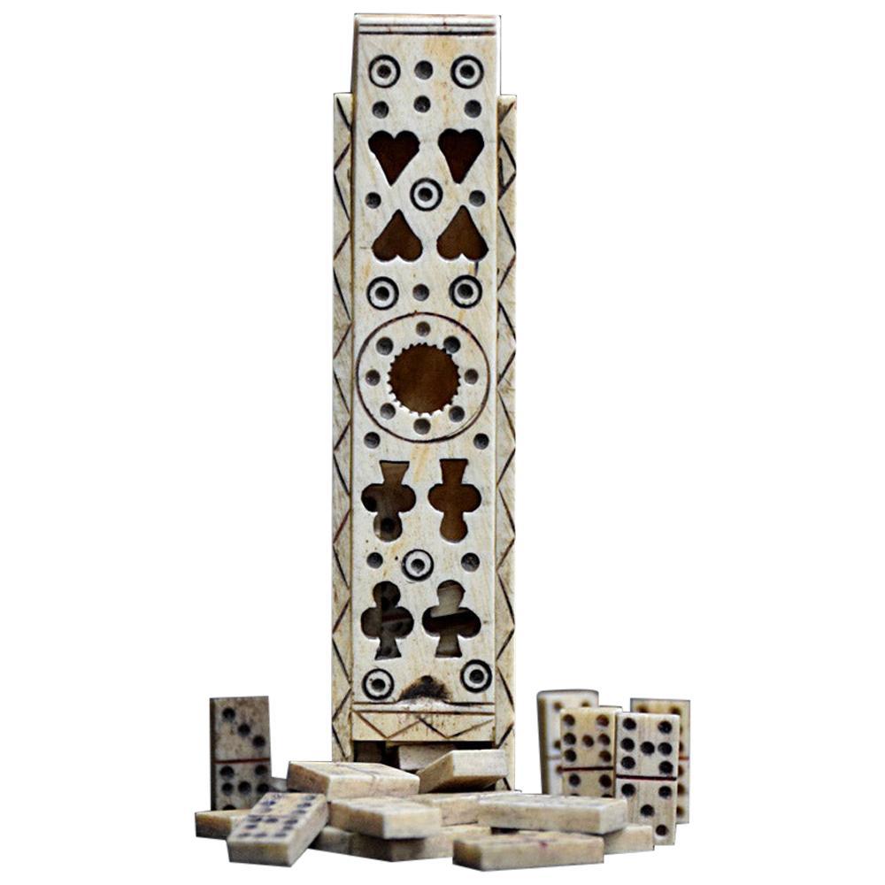 19th Century Prisoner of War Domino Set