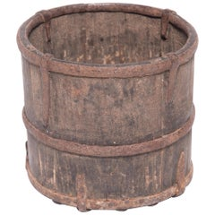 19th Century Provincial Chinese Brush Pot