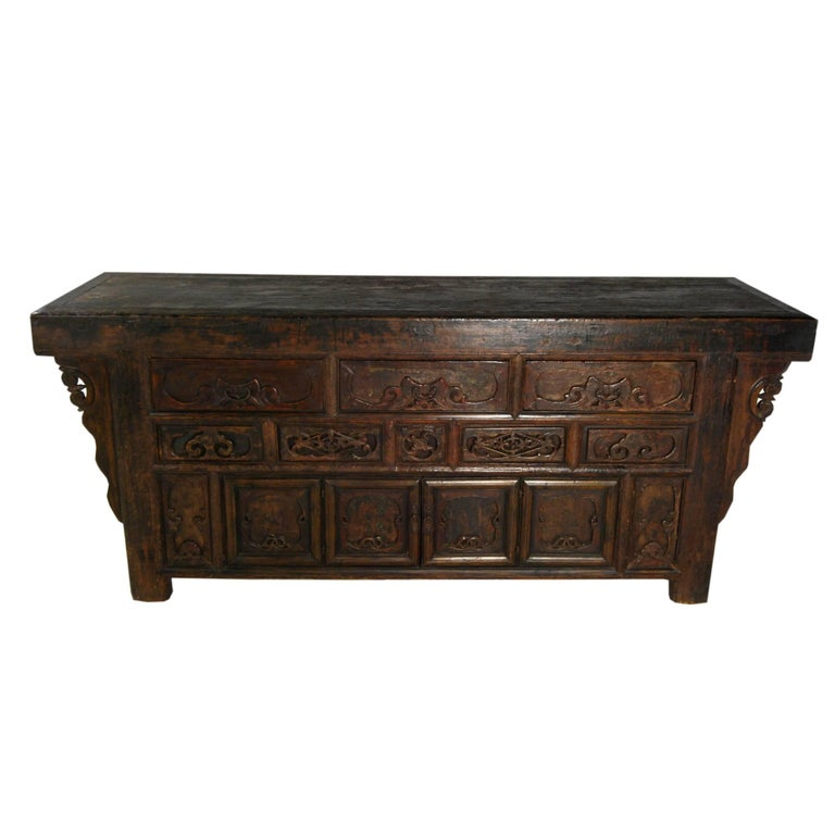 19th Century Provincial Chinese Sideboard