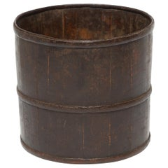 19th Century Provincial Chinese Water Bucket