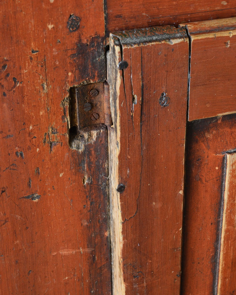 19th Century Provincial Gustavian Cabinet For Sale 1