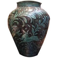 19th Century Qajar Ceramic Vase