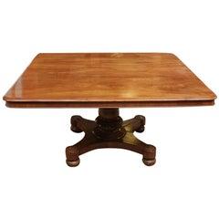 19th Century Rectangular Mahogany Dining Table