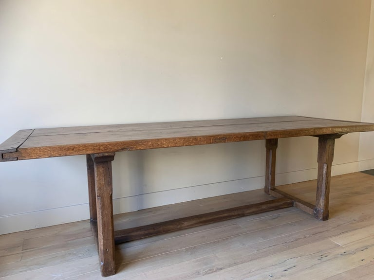 19th Century Refectory Farm Table For Sale 5