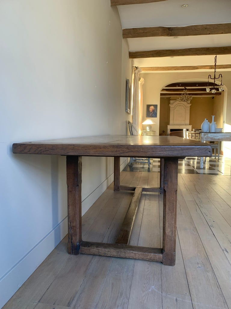 19th Century Refectory Farm Table For Sale 6