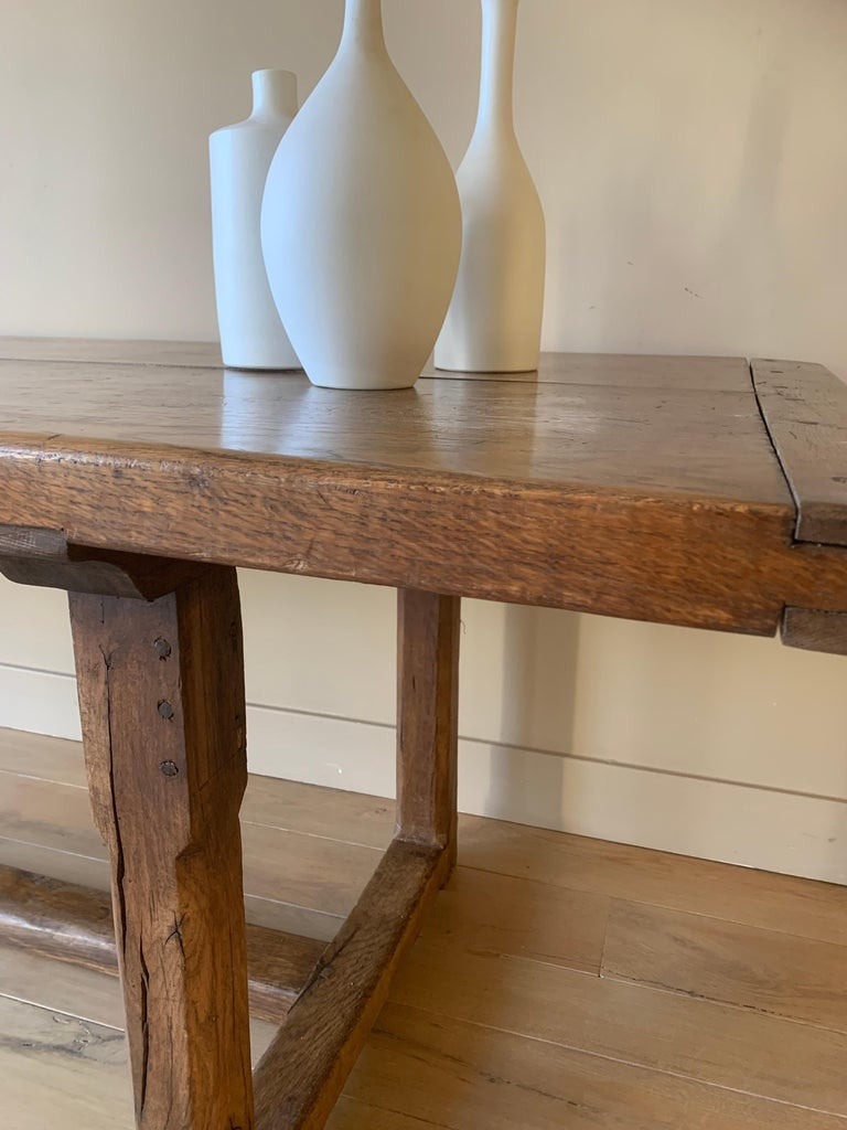 19th Century Refectory Farm Table For Sale 2