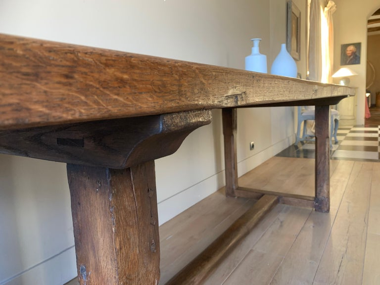 19th Century Refectory Farm Table For Sale 3