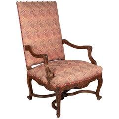 19th Century Regence Style Fauteuil a la Reine