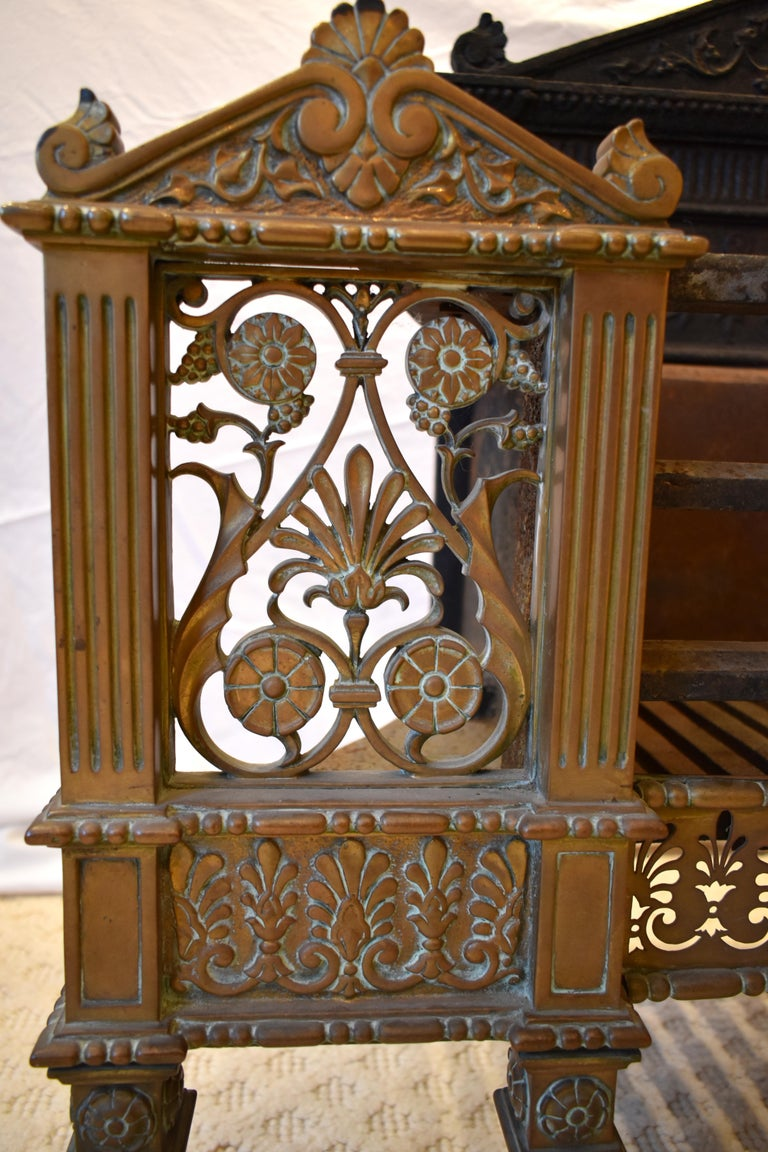 19th Century Regency Fire Grate In Good Condition For Sale In Warminster , Wiltshire