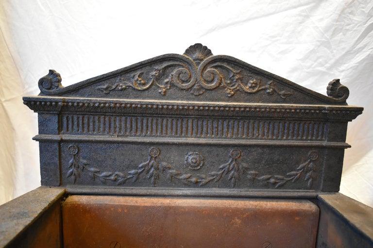 19th Century Regency Fire Grate For Sale 1