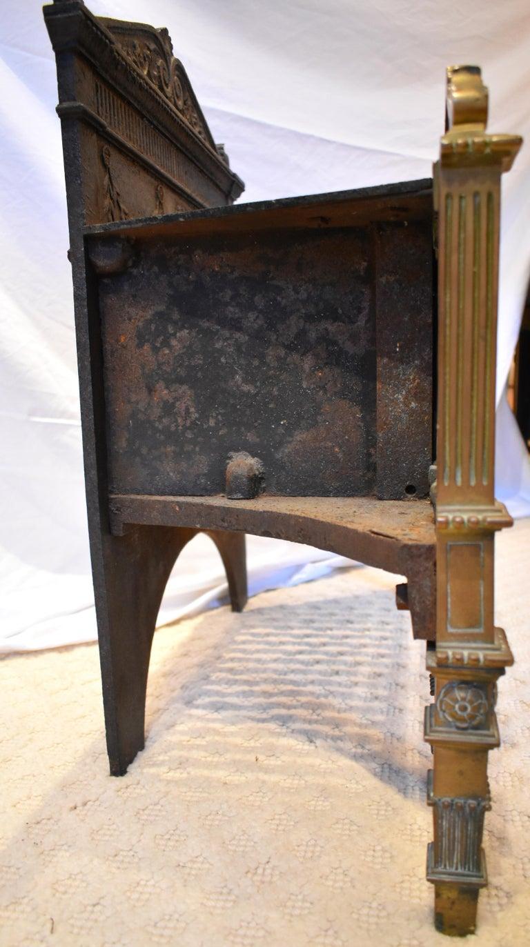 19th Century Regency Fire Grate For Sale 3