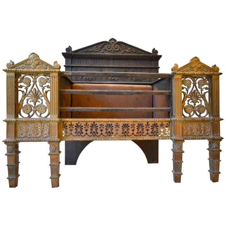19th Century Regency Fire Grate For Sale
