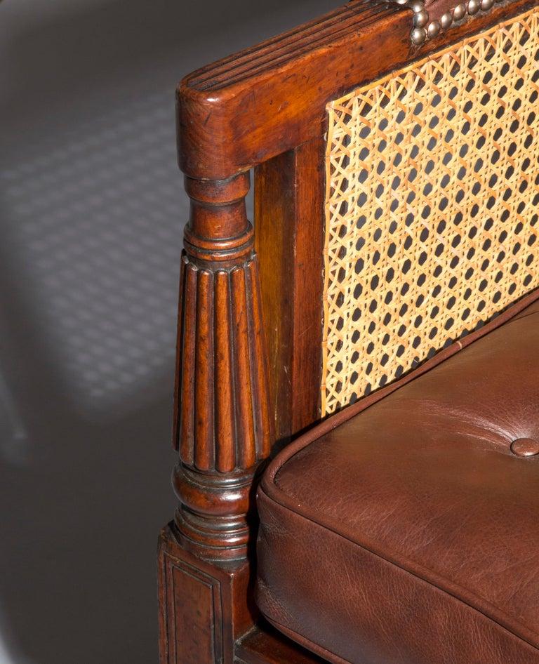 19th Century Regency Gillows Desk Armchair For Sale 1