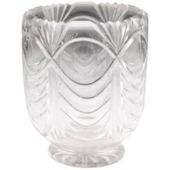 19th Century Regency Glass Tea Caddy Bowl