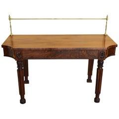 19th Century Regency Mahogany Serving Table/Sideboard