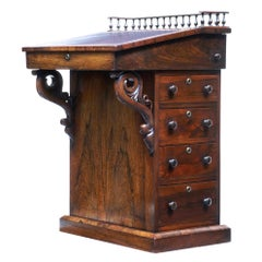 19th Century Regency Palisander Davenport Desk