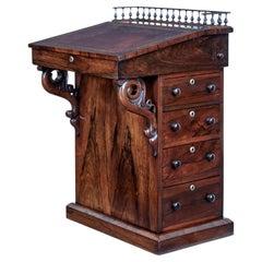 19th Century Regency Palisander Davenport Desk