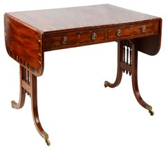 19th Century Regency Period Sofa Table