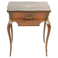 19th Century Regency Revival Brass Mounted Table