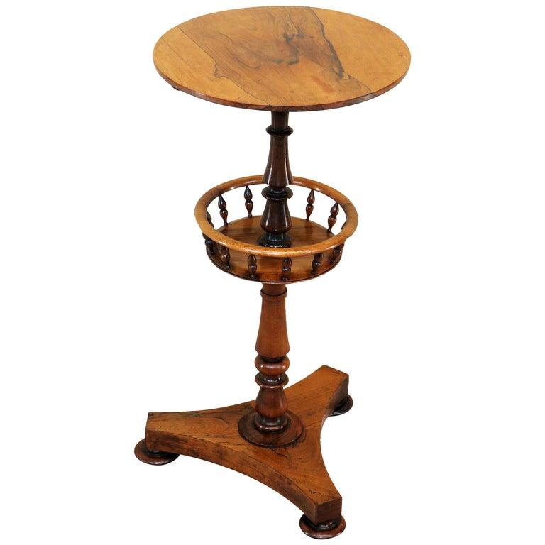 19th Century Regency Rosewood Circular Occasional Table