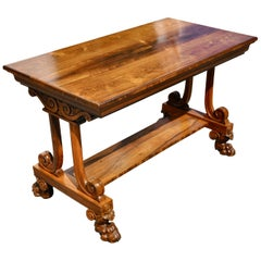 19th Century Regency Rosewood Sofa Table by T & G Seddon, London