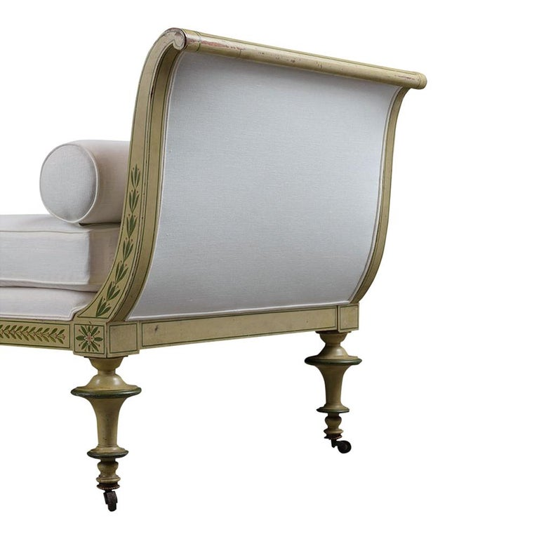 19th Century Regency Style Chaise Lounge For Sale 5