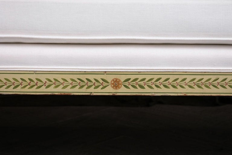 English 19th Century Regency Style Chaise Lounge For Sale