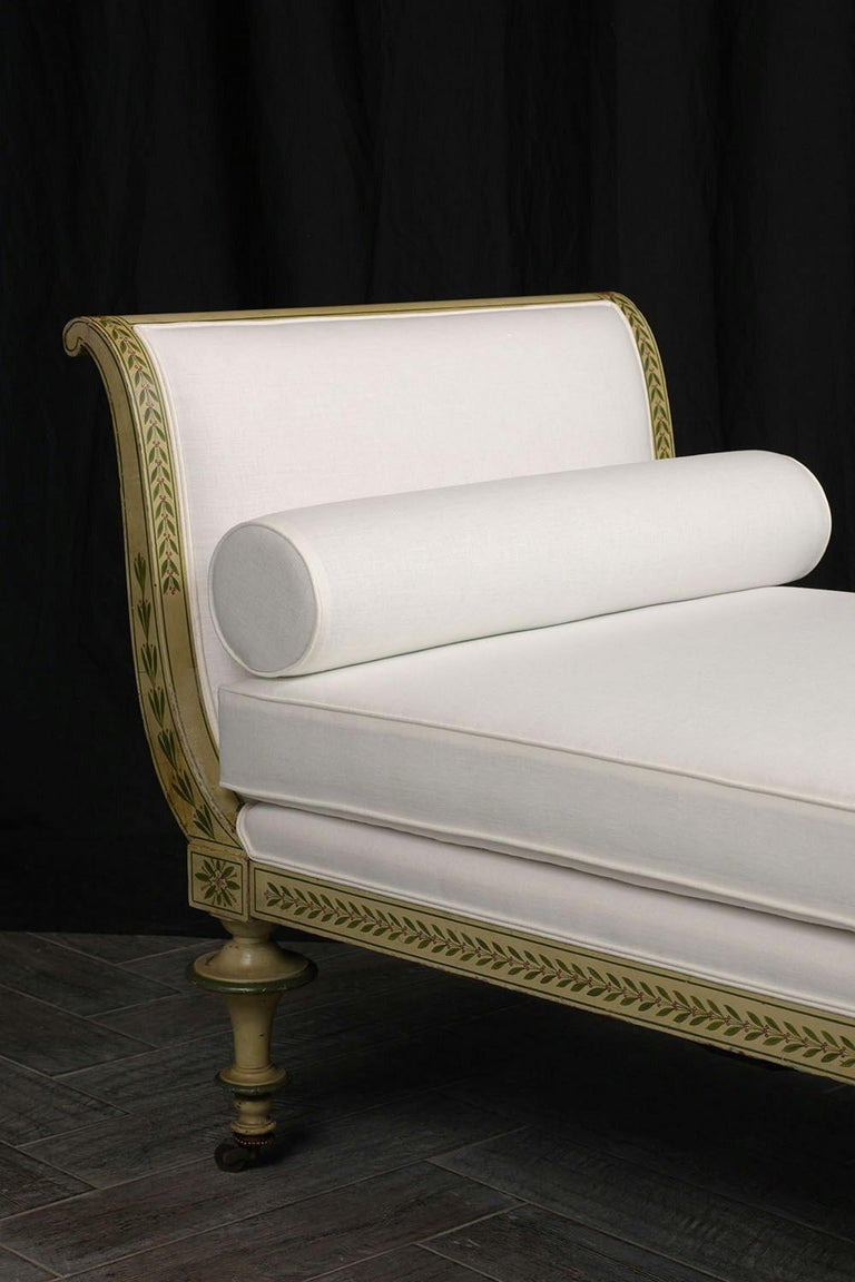 19th Century Regency Style Chaise Lounge For Sale 3