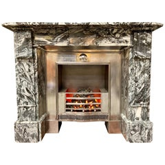 19th Century Regency Style Marble Fireplace Surround