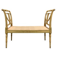 19th Century Regency Window Bench with Old Paint