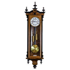 19th Century Regulator Wall Clock