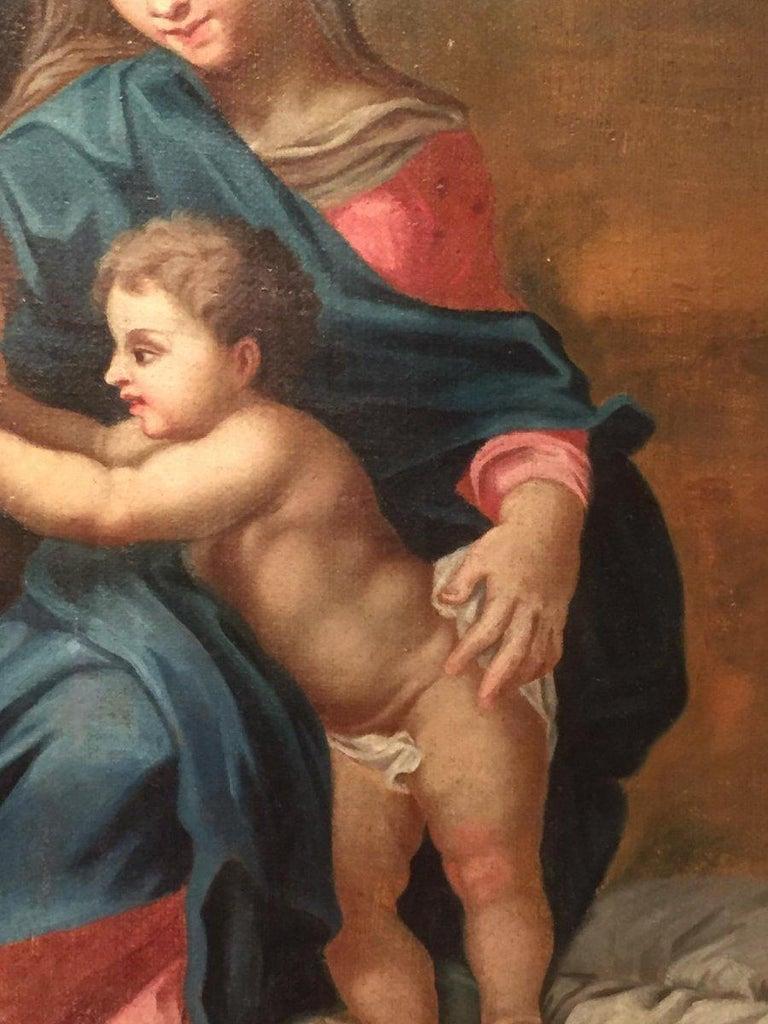 19th Century Religious Painting of Italian School In Good Condition For Sale In Badia Polesine, Rovigo
